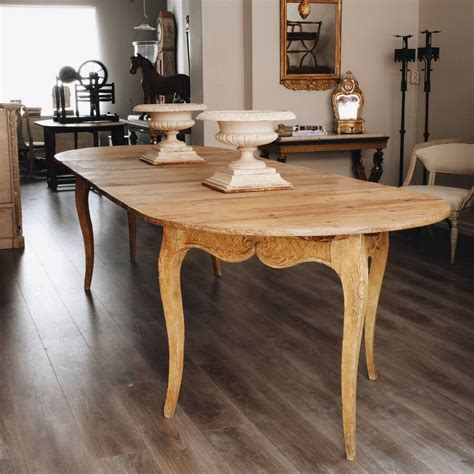 18th Century Rococo Demilunes Or Dining Tables For Sale At Rococo Dining Table