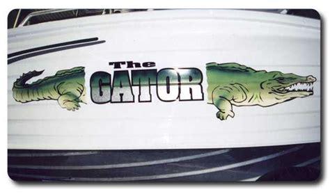 boat names design boat name design the gator by www boatnames au