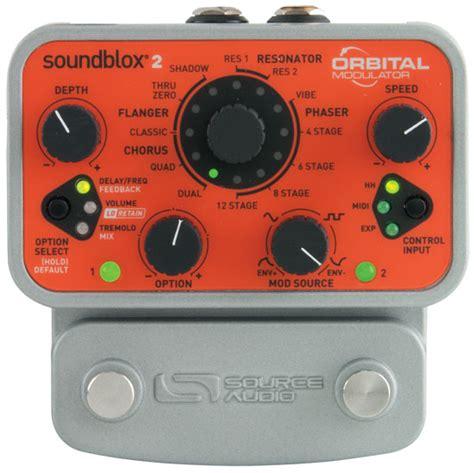 Modulator 022 Player source audio orbital modulator pedal review