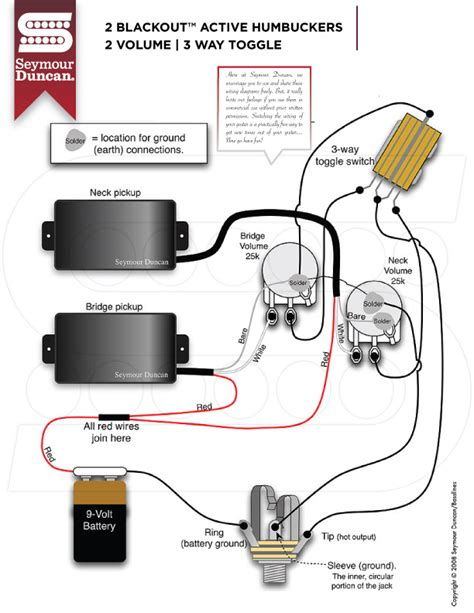 seymour duncan antiquity wiring diagram k