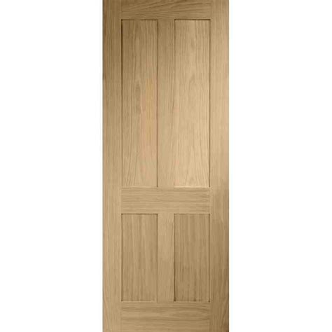 Interior Oak Panel Doors Shaker 4 Panel Chislehurst Doors