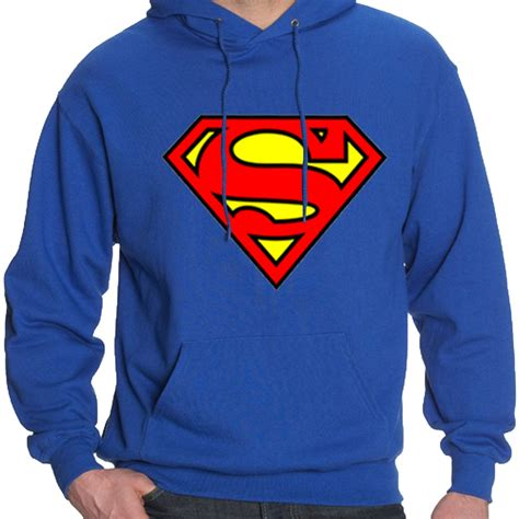 Hoodie Sweater Batman V Superman 2 1 mens superman hoodie hooded sweatshirt pullover sweat hoody jumper sports casual