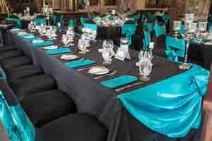 black and teal wedding decorations pictures to pin on