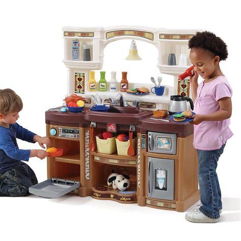 Step2 Great Gourmet Kitchen Set Neutral by Lifestyle Deluxe Kitchen Play Kitchen Step2