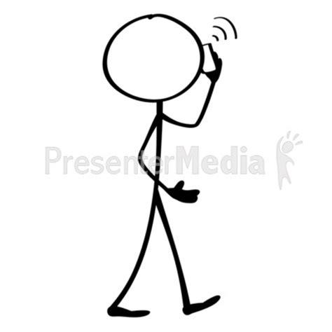 figure lines line figure mobile phone presentation clipart great