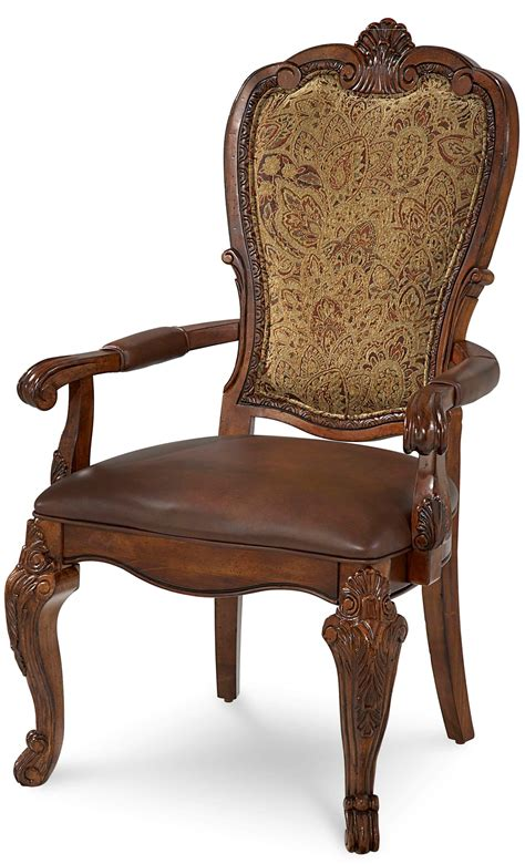 Upholstered Dining Arm Chair World Upholstered Dining Arm Chair