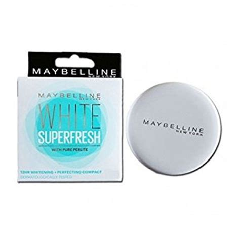 Maybelline White Fresh maybelline white superfresh compact powder review