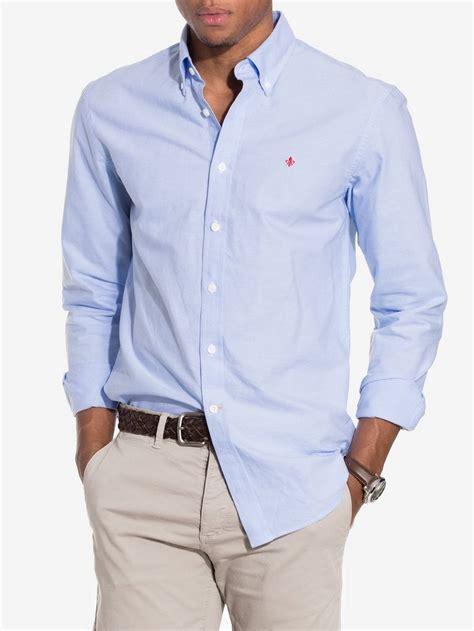 light blue shirt mens oxford button morris light blue shirts