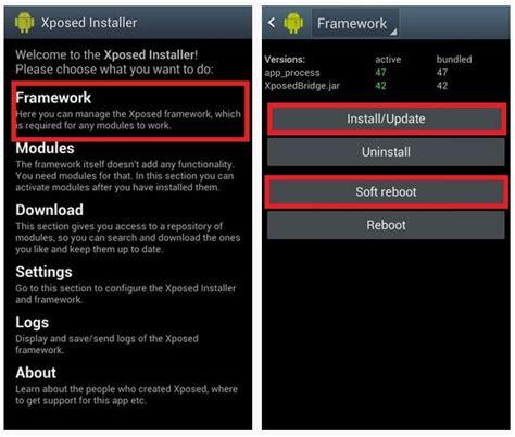 tutorial menggunakan xposed installer tutorial install xposed installer di lollipop rom