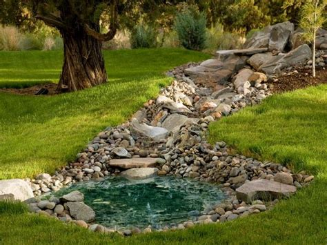 pond below hilltop rock garden idea my garden pinterest ponds garden ponds and pond ideas