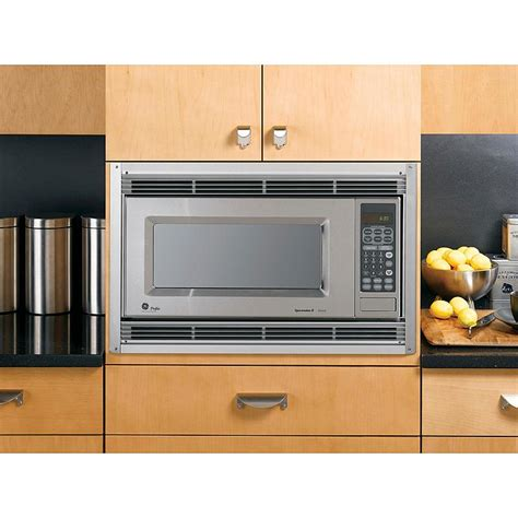 ge built in microwave ge appliances jx827sfss 27 quot built in microwave trim kit sears outlet