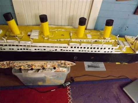 How To Make The Titanic Out Of Paper - r m s titanic made out of paper