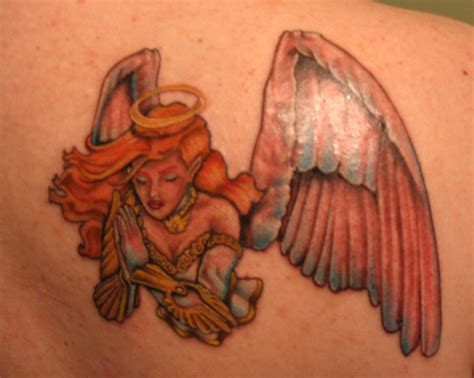 colored angel tattoo tattoos and designs page 367