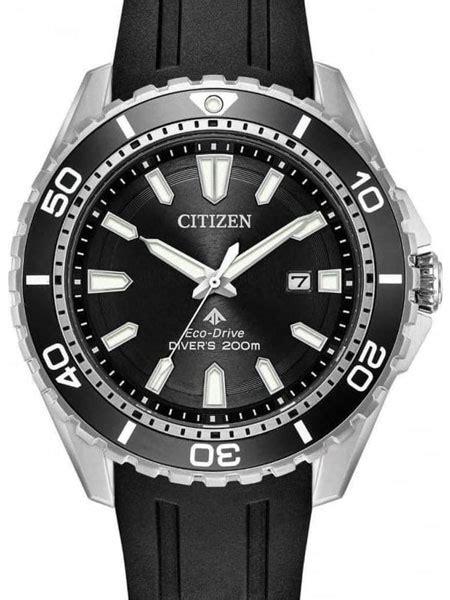 citizens dive watches citizen eco drive promaster black dive bn0190 15e