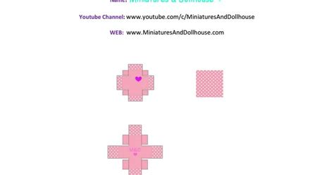 tutorial ufi box pdf miniature doll ring and gift box to keep it inside