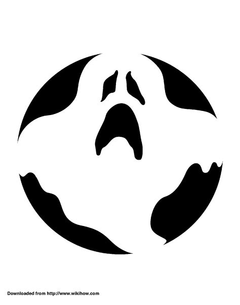 ghost pumpkin template printable ghost pumpkin template crafts
