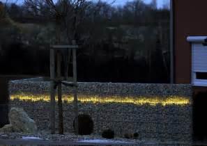 gabionen beleuchtung reinicke gabionen systeme stuttgart gabionen drahtk 246 rbe