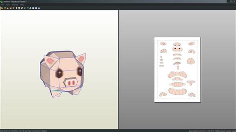 Pig Papercraft - 35 best images about 3d paper crafts 2 on