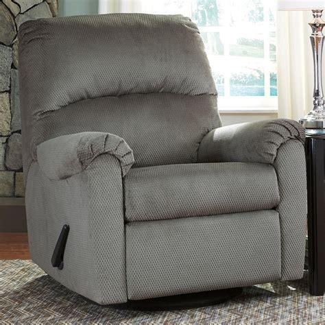 ashley furniture swivel recliner ashley signature design bronwyn 2600261 swivel glider