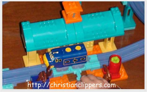 Chuggington Repair Shed by Review And Giveaway Chuggington Mega Blok Sets Giveaway
