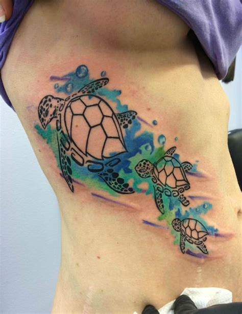watercolor tattoo wisconsin watercolor sea turtles by chris burke at serenity