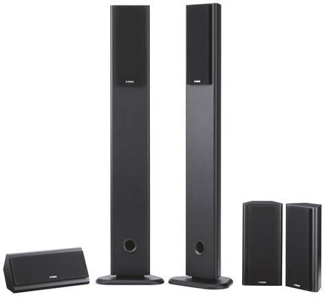 yamaha ns pa120 5 home theater speaker package black