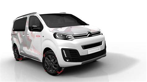 er concept citroen spacetourer concept is a 4x4 minivan for outdoorsy