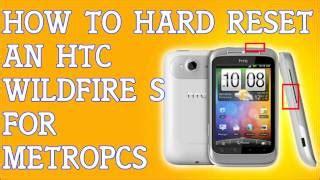 unlock pattern lock htc wildfire video htc wildfire s restore factory hard reset remove
