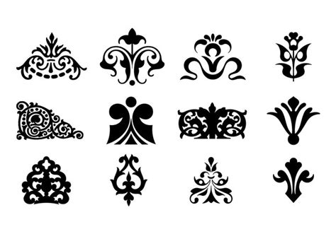 design ornaments decorative ornaments for logo web and graphic design