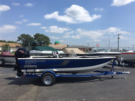 new year 2018 boat 2018 crestliner 1750 fish hawk sc power boat for sale
