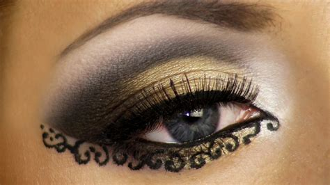 Eyeliner Arab 7 crucial to apply astounding arabic eye makeup