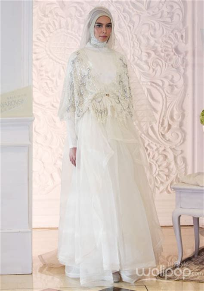 Baju Nikah Syar I mulai dari rp 7 juta ini kisaran harga baju pengantin syar i
