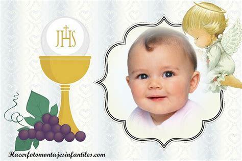 montajes y fotomontajes infantiles para ni os y bebes fotomontajes de bautismo y comuni 243 n fotomontajes infantiles