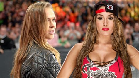 nikki bella ronda rousey match nikki bella apparently not happy with wwe giving so much