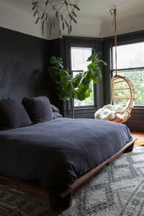 Schwarzes Schlafzimmer
