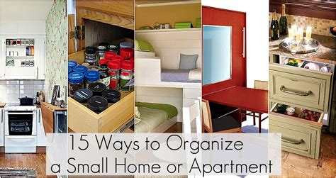 organize apartment ideas to organize every area in your home