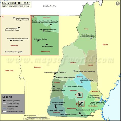 portsmouth usa map location on map of dartmouth new hshire orford nh map