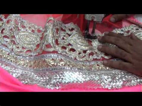 Cutting Of Saree Blouse Stitching by Lehnga Saree Blouse Cutting Stitching Method Tutorial