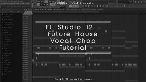 fl studio acapella tutorial fl studio 12 future house vocal chop tutorial flp