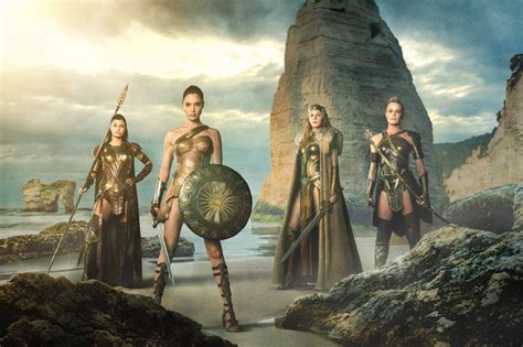 amazon warriorscom first look at the amazon warriors in wonder woman movieweb