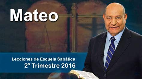 Comentario Alejandro Bullon Del 2do Trimestre 2015 | comentario de escuela sab 225 tica en video pr bull 243 n 2do