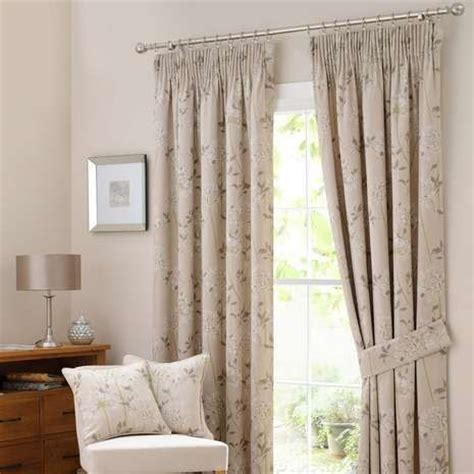 Bedroom Curtains From Dunelm Agapanthus Lined Pencil Pleat Curtains Dunelm