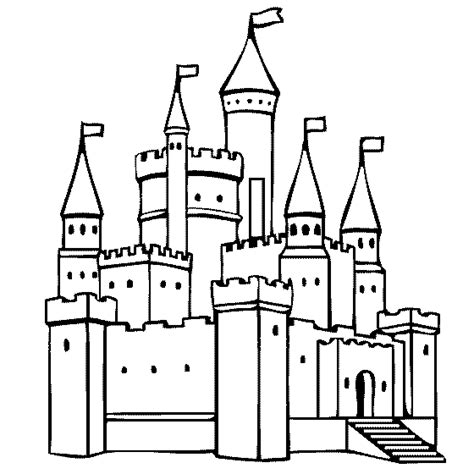 coloring page castle toys coloring pages page 1
