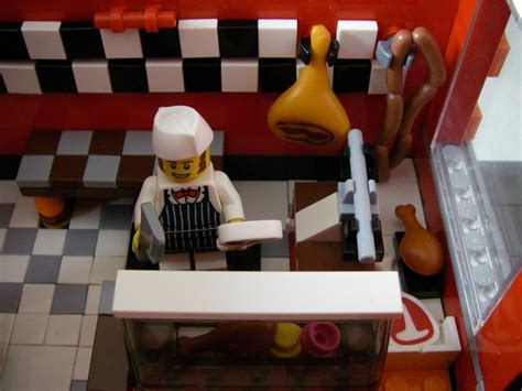 Lego Butcher Cap Lego Aksesoris lego ideas modular butcher shop