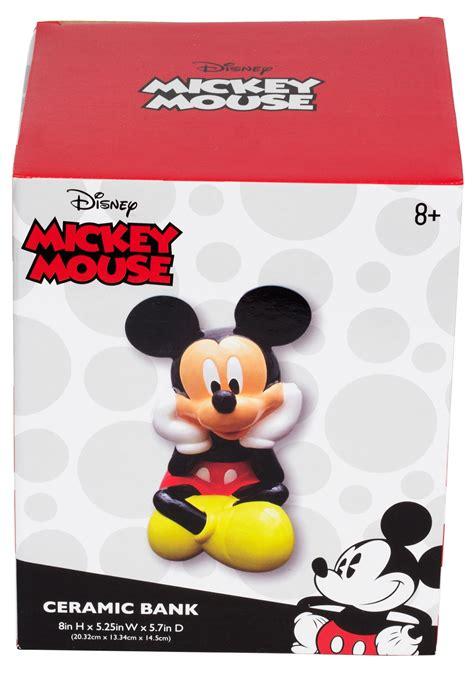 Disney Mickey Coin Bank ceramic coin bank disney mickey mouse
