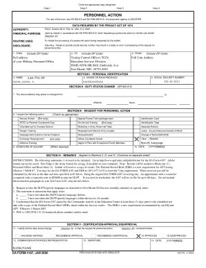 da form 4187 templates fillable & printable samples for