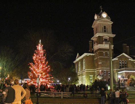colonial lighting buford ga thanksgiving kicks off holiday celebrations in gwinnett
