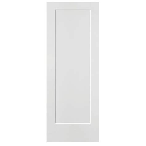 Masonite 30 In X 80 In Lincoln Park Primed 1 Panel Solid 30 Doors Interior