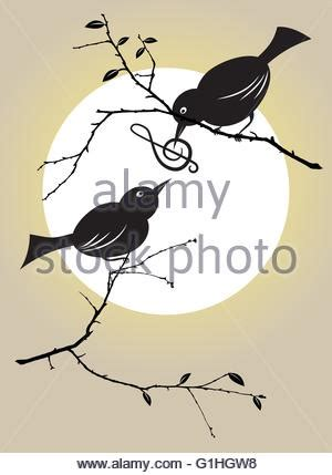 vector illustration of a bird feeding the hungry chicks