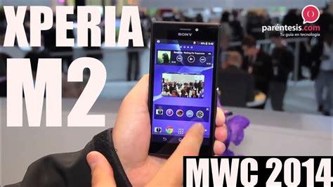 Barcelona Sony Xperia M2 celular sony xperia m2 primeras impresiones desde el mwc